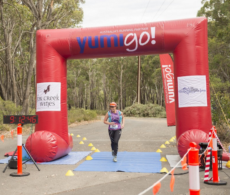 vicki shaw at yumigo summer series - running with sisters
